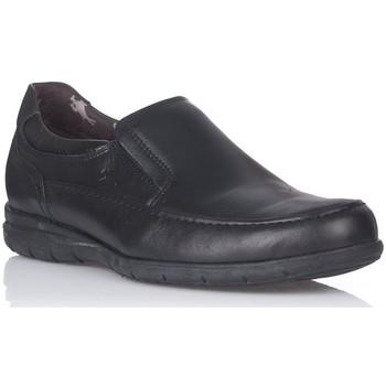 Sapatos Homem Mocassins Fluchos 8499 Preto
