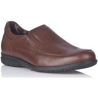 Sapatos Homem Mocassins Fluchos 8499 Castanho