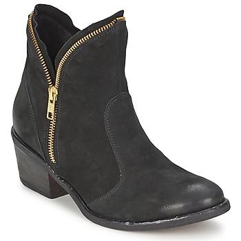 Sapatos Mulher Botas baixas Casual Attitude LALE Preto