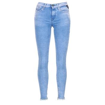 Textil Mulher Gangas ¾ & 7/8 Replay JOI Azul