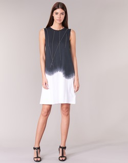 Textil Mulher Vestidos curtos Replay WOOPINA Preto / Branco