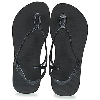 Sapatos Mulher Chinelos Havaianas LUNA Preto