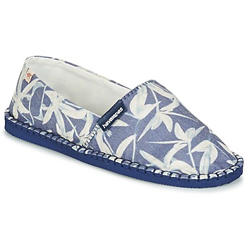 Sapatos Alpargatas Havaianas ORIGINE ORQUIDEAS Marinho / Branco