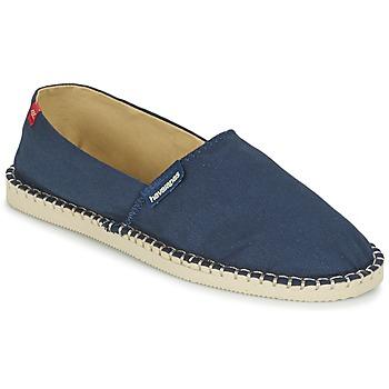 Sapatos Alpargatas Havaianas ORIGINE III Marinho / Bege