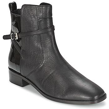 Sapatos Mulher Botas baixas Bertie PELLI Preto