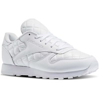 Sapatos Mulher Sapatilhas Reebok Sport Classic Leather Quilted Pack Branco