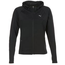 Textil Mulher Sweats Puma TRANSITION JKT Preto