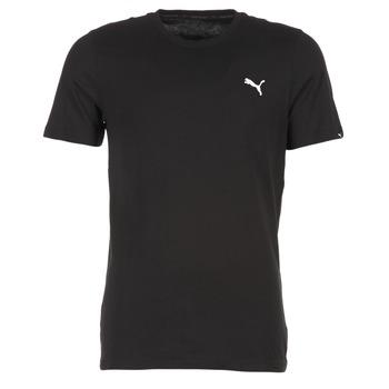Textil Homem T-Shirt mangas curtas Puma ESS TEE Preto
