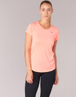 Textil Mulher T-Shirt mangas curtas New Balance ACCELERATE T Coral