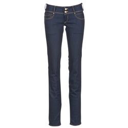 Textil Mulher Calças Jeans Le Temps des Cerises 220 Azul