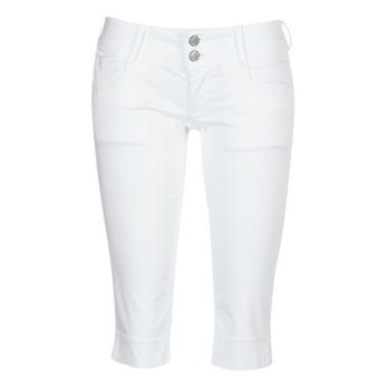 Textil Mulher Calças curtas Le Temps des Cerises NINA Branco