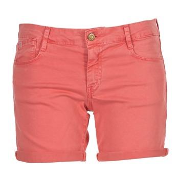Textil Mulher Shorts / Bermudas Le Temps des Cerises JANKA Coral