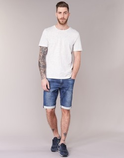 Textil Homem Shorts / Bermudas Le Temps des Cerises JOGG SHORT Azul
