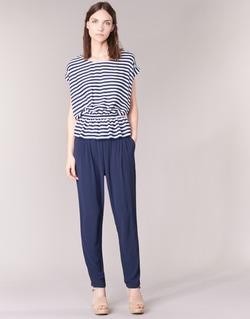 Textil Mulher Calças finas / Sarouels Molly Bracken FODES Marinho
