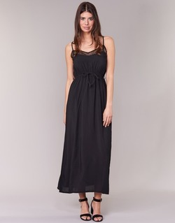 Textil Mulher Vestidos compridos Molly Bracken TEDER Preto