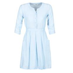 Textil Mulher Vestidos curtos Molly Bracken BLECH Azul