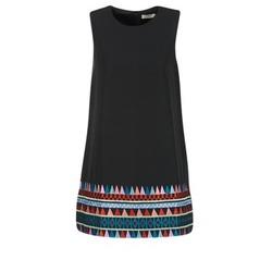 Textil Mulher Vestidos curtos Molly Bracken MESPT Preto