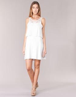 Textil Mulher Vestidos curtos Molly Bracken SAMARC Marfim