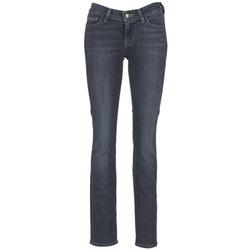 Textil Mulher Calças Jeans Levi's 714 STRAIGHT Azul petróleo / WONDER