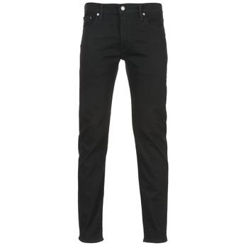 Textil Homem Calças Jeans Levi's 502 REGULAR TAPERED Preto