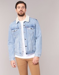 Textil Homem casacos de ganga Levi's TYPE 3 SHERPA TRUCKER