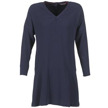 Textil Mulher Vestidos curtos Tommy Hilfiger GRETA Marinho
