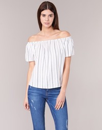 Textil Mulher Tops / Blusas Betty London GOYPILA Cru