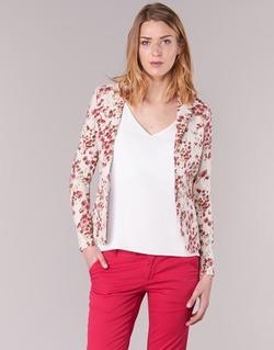 Textil Mulher Casacos/Blazers Les P'tites Bombes OSIDOULE Branco / Vermelho