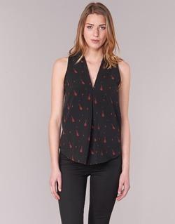 Textil Mulher Tops / Blusas Les P'tites Bombes MERVINE Preto / Vermelho