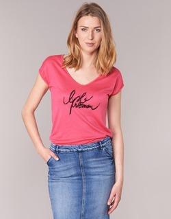 Textil Mulher T-Shirt mangas curtas Les P'tites Bombes CHOUBERNE Rosa