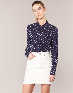 Textil Mulher camisas Kookaï HOLIAVE Marinho / Branco