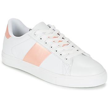 Sapatos Mulher Sapatilhas Spot on REVILLIA Branco / Rosa