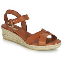 Sapatos Mulher Sandálias Betty London GIORGIA Camel