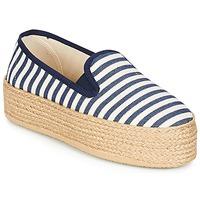 Sapatos Mulher Alpargatas Betty London GROMY Marinho / Branco