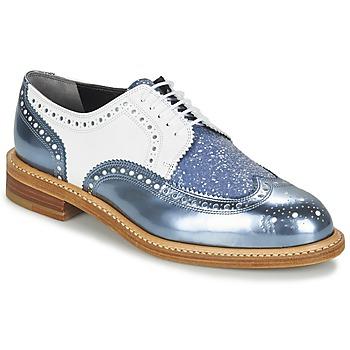 Sapatos Mulher Sapatos Robert Clergerie ROELTM Azul / Metalizado / Branco