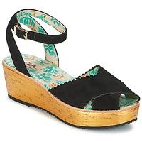 Sapatos Mulher Sandálias Miss L'Fire MARCIE Preto