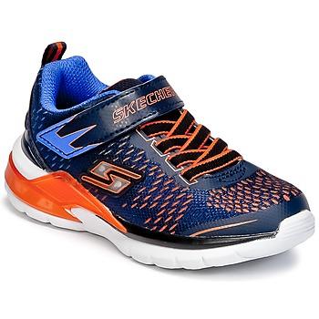 Sapatos Rapaz Multi-desportos Skechers ERUPTERS II Marinho / Laranja