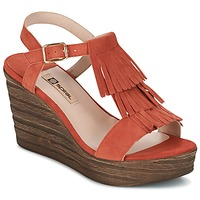 Sapatos Mulher Sandálias Spiral CARLA Laranja