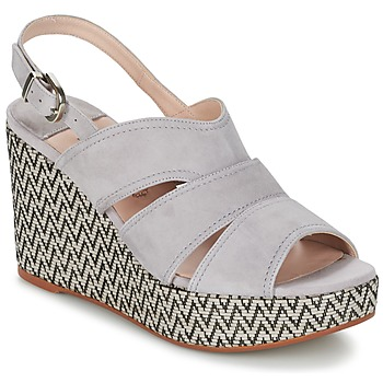 Sapatos Mulher Sandálias Spiral PAULA Cinza