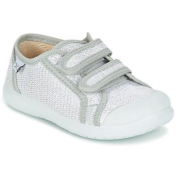 Sapatos Rapariga Sapatilhas Citrouille et Compagnie GLASSIA Prata