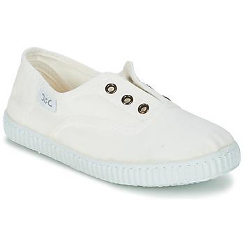Sapatos Criança Sapatilhas Citrouille et Compagnie GAMBOUTA Branco