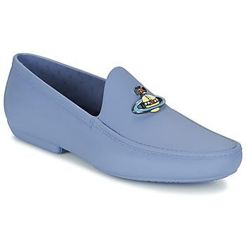 Sapatos Homem Mocassins Vivienne Westwood ENAMELLED ORB MOC Azul