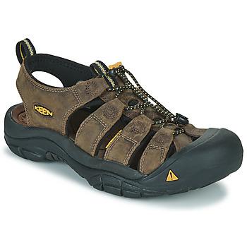 Sapatos Homem Sandálias desportivas Keen NEWPORT Castanho