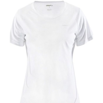 Textil Mulher T-Shirt mangas curtas Craft Prime Tee W Branco