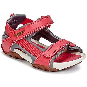 Sapatos Rapariga Sandálias Camper OUS Vermelho
