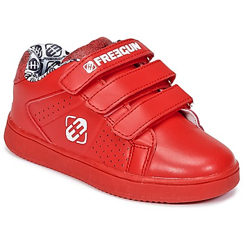 Sapatos Criança Sapatilhas Freegun FG ULSPORT Vermelho / Branco