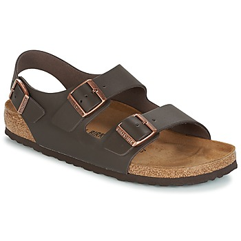 Sapatos Homem Sandálias Birkenstock MILANO Castanho