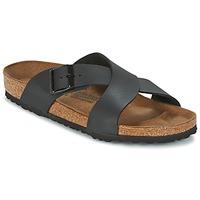 Sapatos Homem Chinelos Birkenstock TUNIS Preto