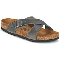 Sapatos Homem Chinelos Birkenstock TUNIS Cinza