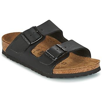 Sapatos Criança Chinelos Birkenstock ARIZONA Preto